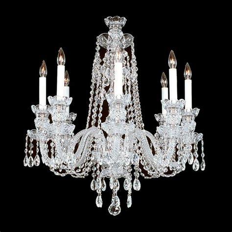 8 R 8 8 Light Crystal Chandelier With Swarovski 22 Quot X Swarovski Chandelier Parts