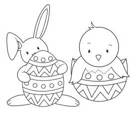 cute rabbit easter coloring pages coloringsuite