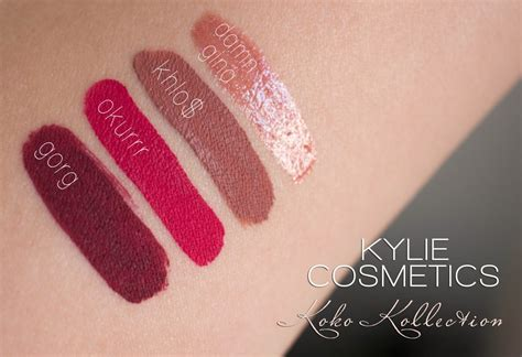 Lipstik Koko Collection cosmetics koko kollection review swatches giveaway the makeup