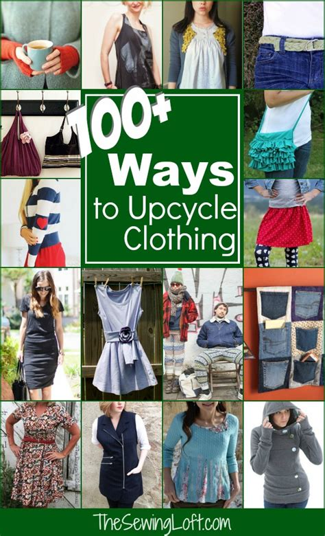 100 Ways to Upcycle your clothing   The Sewing Loft