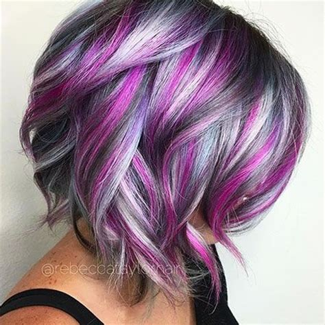 funky hair color ideas for older women 25 best ideas about short hair colors on pinterest