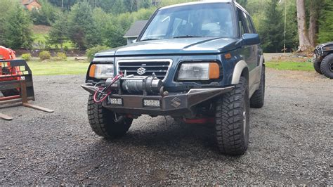 To Sidekick custom front bumper for a sidekick sport zukiworld