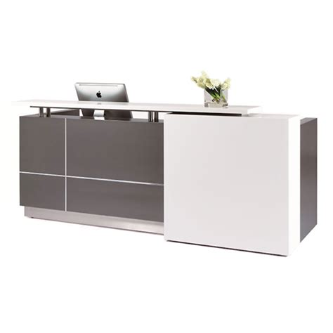 Office Counter Desk Monaco Reception Counter Desk Ikcon