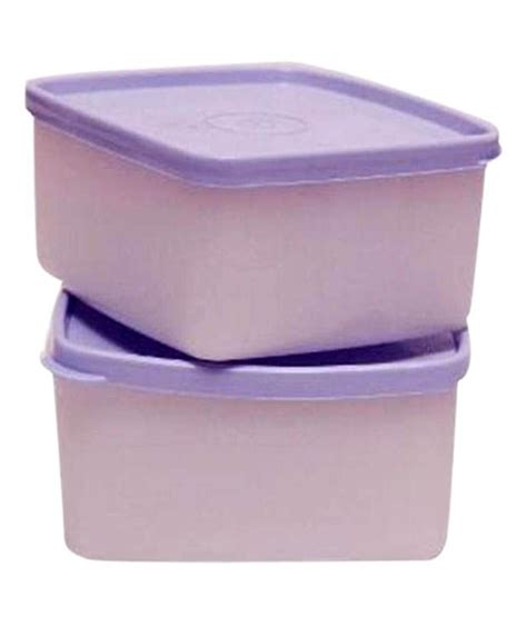 Cool N Fresh Set tupperware cool n fresh small set of 2 plastic containers buy at best price in india