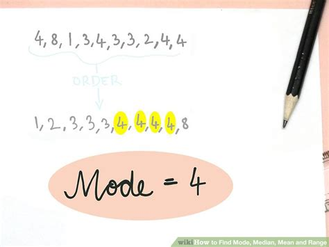 How Do You Find On How To Find Mode Median And Range 9 Steps With Pictures