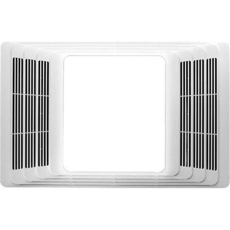 Broan Cfm Ceiling Exhaust Bath Fan With Heater The Home Depot Lights And Ls Broan 659 50 Cfm Bathroom Exhaust Ventilation Fan With Heater An Faucetlist