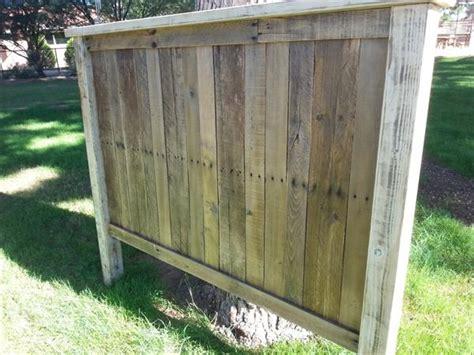 distressed wood headboards diy pallet wood headboard pallet furniture plans