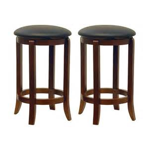 swivel leather bar stools winsome wood 946 faux leather swivel bar stool set of 2 atg stores