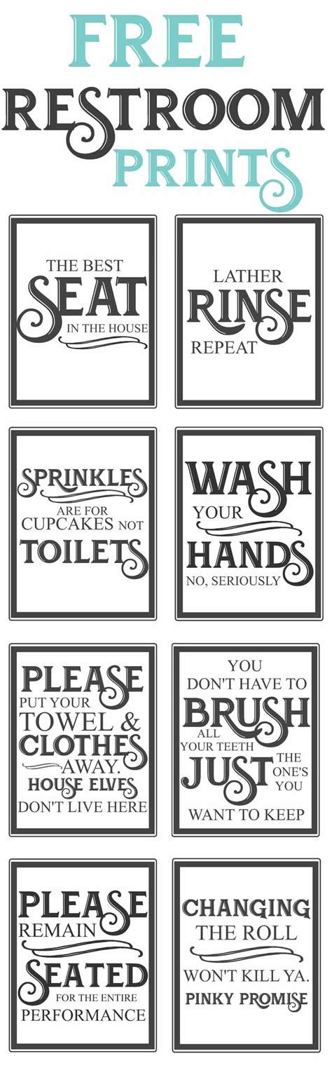 printable toilet quotes free vintage bathroom printables the mountain view cottage