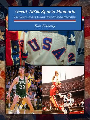 great 1980s sports moments the players and teams that defined a generation books home thesportsnotebook