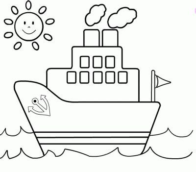 barco dibujo infantil dibujo de barco infantil dibujo para colorear de barco