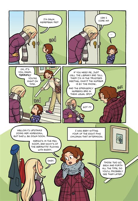 The Three Day Novel by Read Excerpt From New Baby Sitters Club Graphic Novel Ew