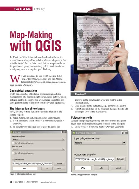 qgis tutorial making a map 3