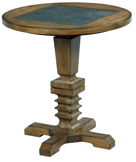 Elm Ridge Burnished Elm Accent Table From Hammary