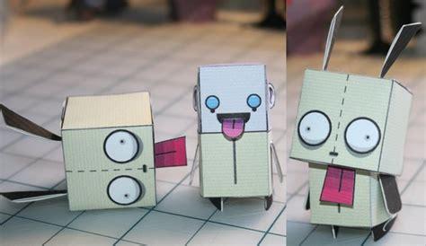 Gir Papercraft - gir papercraft by whuzzit on deviantart