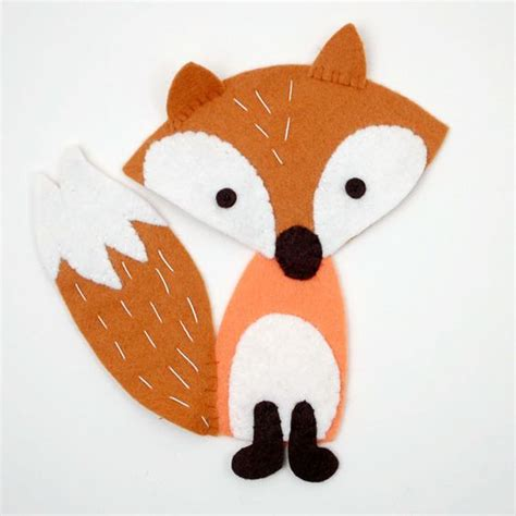 fox pattern pinterest free felt fox pattern and tutorial free felt toy