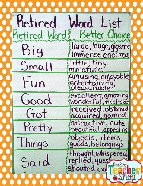 theme synonym english best 25 synonyms anchor chart ideas on pinterest