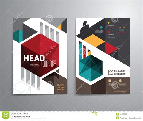 booklet cover layout design vector brochure flyer magazine cover booklet poster
