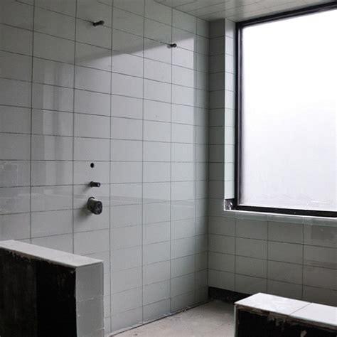 Modern Bathroom Glass Tile Modern House Glass Tile Bathroom Shower