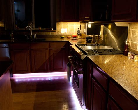 kitchen lighting led under cabinet led light bar with multi color leds rigid led strip with