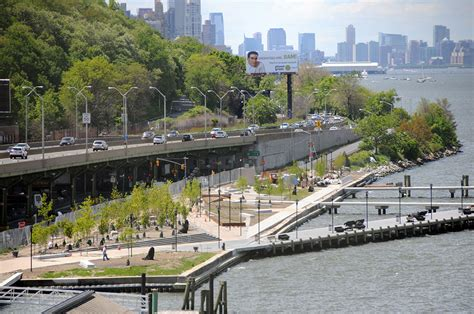 definition design llc nyc the west harlem piers park by w architecture 171 landscape