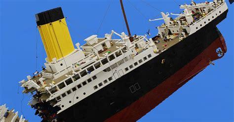 model boat sinking lego titanic model sinking sinks ideas