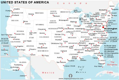 usa map with states and cities with time zone free usa cities map cities map of usa open source
