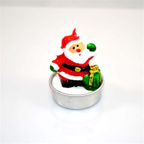 decorative novelty christmas decorative novelty candles natural 4 candle set