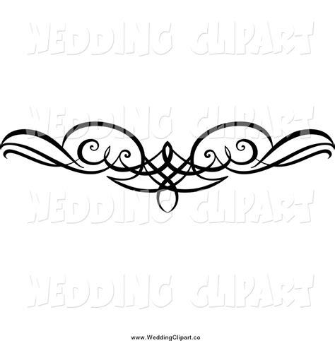 Wedding Vector Clipart Border by Flourish Border Clip 53