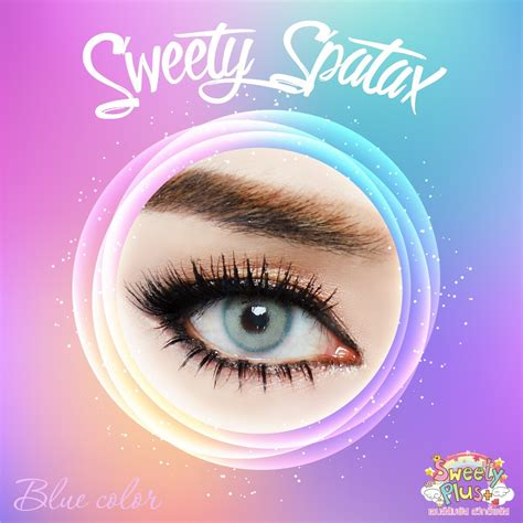 Sweet Blue Soflens softlens sweety spatax 14 5mm by sweety plus