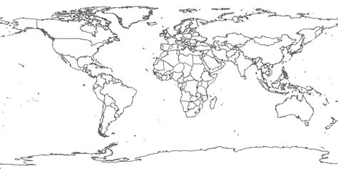 line drawing map world map line drawing sketch coloring page