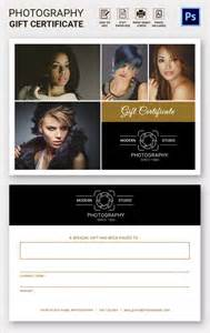 Gift Certificate Template For Photographers by Photography Gift Certificate Template 13 Free Word Pdf