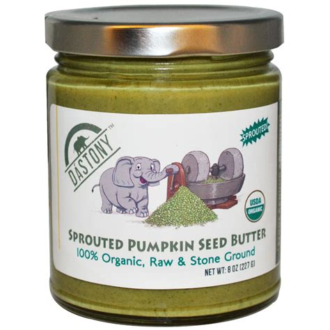 Organic Pumpkinseed dastony sprouted pumpkin seed butter 100 organic 8 oz