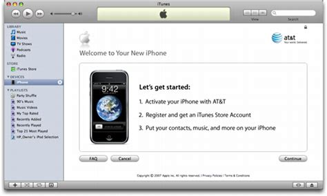 how to activate at t iphone how do i activate my at t apple iphone ask dave