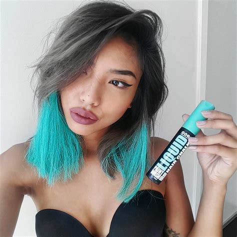 chalk hair color with colour without the commitment thanks to