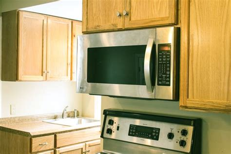 Cabinet Mounted Microwave by How To Mount A Microwave A Cabinet With Pictures