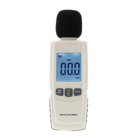 Lcd Digital Sound Noise Decibel Level Meter Tester Diskon portable digital sound level meter new upgrade noise