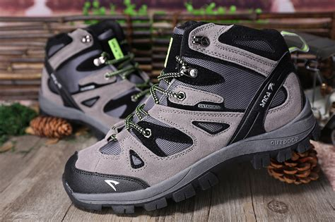Sepatu Gunung Snta 430 Grey Green Trekking Hiking Adventure Outdoor jual sepatu gunung trekking hiking snta 463 grey green brave outdoor