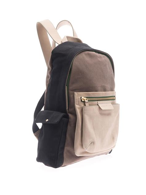 Marc By Marc Exclusive Canvas Backpack by Marc By Marc 2pock And Biggie Canvas Backpack In