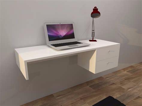 escritorios flotantes para pc escritorio melamina flotante 02 cajones s 299 00 en