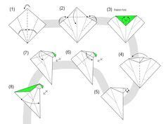 Origami Macaw Parrot Step By Step - 1000 images about diy origami d 233 co papier on