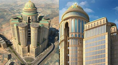 Al Abraj Hotel Makkah 4394 by World S Largest Hotel With 10 000 Rooms 70 Restaurants To
