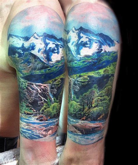 quarter sleeve forest tattoo 25 best ideas about nature tattoo sleeve on pinterest