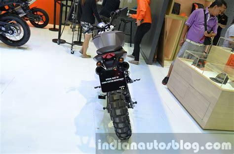 Ktm Auto Expo 2014 by Ktm Duke 200 Custom Rear Tyre At 2014 Thailand