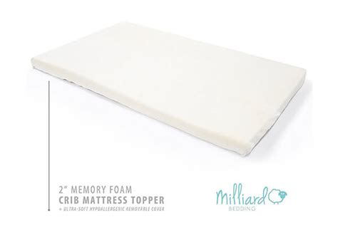 Top 10 Best Mattress Toppers For Back Pain In 2018 Reviews Milliard Crib Mattress Topper