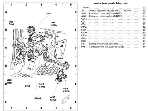 2002 ford taurus exhaust system diagram wiring forums