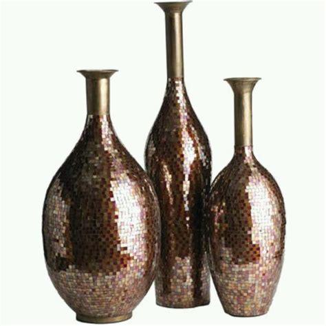 iron glass mosaic vases bottled up vases bottles