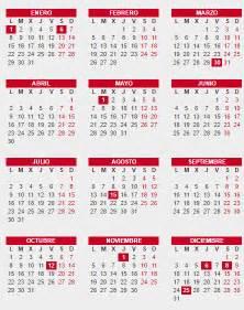 Calendario Nacional 2018 Calendario Laboral 2018 Espa 241 A D 237 A De Acci 243 N De Gracias