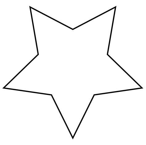 printable star outline star outline clipart free stock photo public domain pictures
