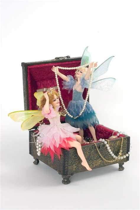 porcelain doll jewelry box jewelry box porcelain direct sculpted one of a